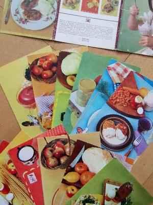 Набор открыток с рецептами 7