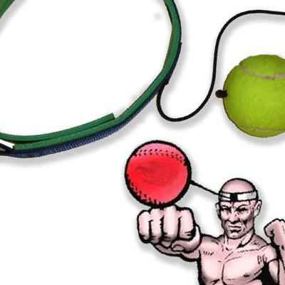 Как сделать тренажер fight ball своими руками 45