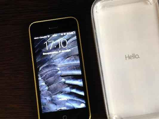 IPhone 5c Yellow 32 Gb